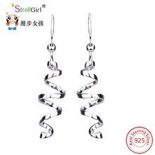 hot deal buy trendy earrings for women helix dangle earring fashion jewelry accessories 925 sterling silver jewelry friends gifts special new