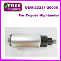 High Quality  for Toyota  Highlander V6 Fuel Pump oem 323-58741 23221-74090 23221-20030  Electrical Fuel Pump