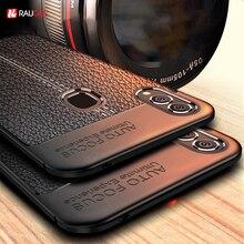 Soft Case Voor Asus Zenfone Max Pro M2 ZB631KL Case Lederen Tpu Siliconen Telefoon Geval Voor Asus Zenfone Max Pro m2 ZB633KL Cover