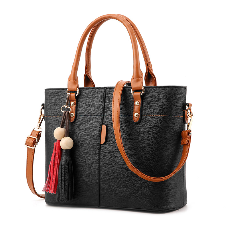 Tassel Women Fashion Handbags With Beads Quality Lady Shoulder Bags Michaeled Handbags Women Handbags For Girls