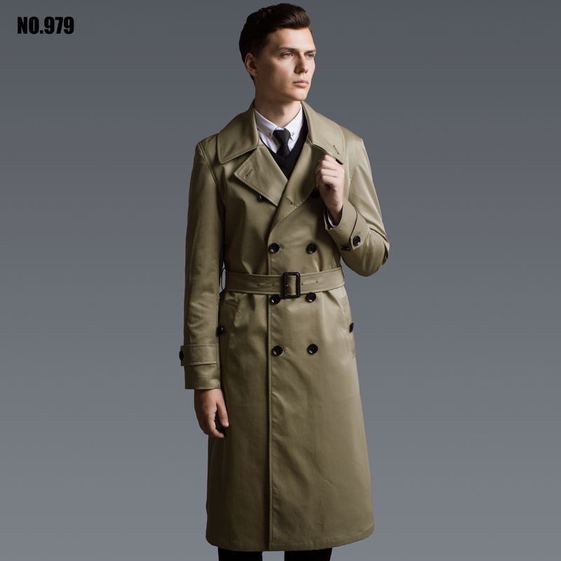 Popular Extra Long Trench Coat Men-Buy Cheap Extra Long Trench ...