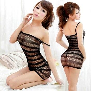 Brand New Sexy Lingerie Swimsuit  Fishnet Sex Toys Bodysuit Body Stocking Dress Nightwear Underwear Sandy Beach