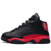 36ec977084b47a 2019 Boys Basketball Shoes Thick Sole Non-slip Outdoor Air Kids Sneakers  Footwear Rubber Children