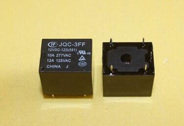 2PCS JQC-3FF-012-1ZS JQC-3FF-12VDC-1ZS 551 12VDC ORIGINAL Power Relay 5PINS