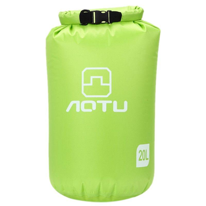 Hot Aotu Portable 20L Waterproof Bag Storage Dry Bag for Canoe Kayak Rafting Sports Outdoor Camping Equipment Travel Kit (Blue