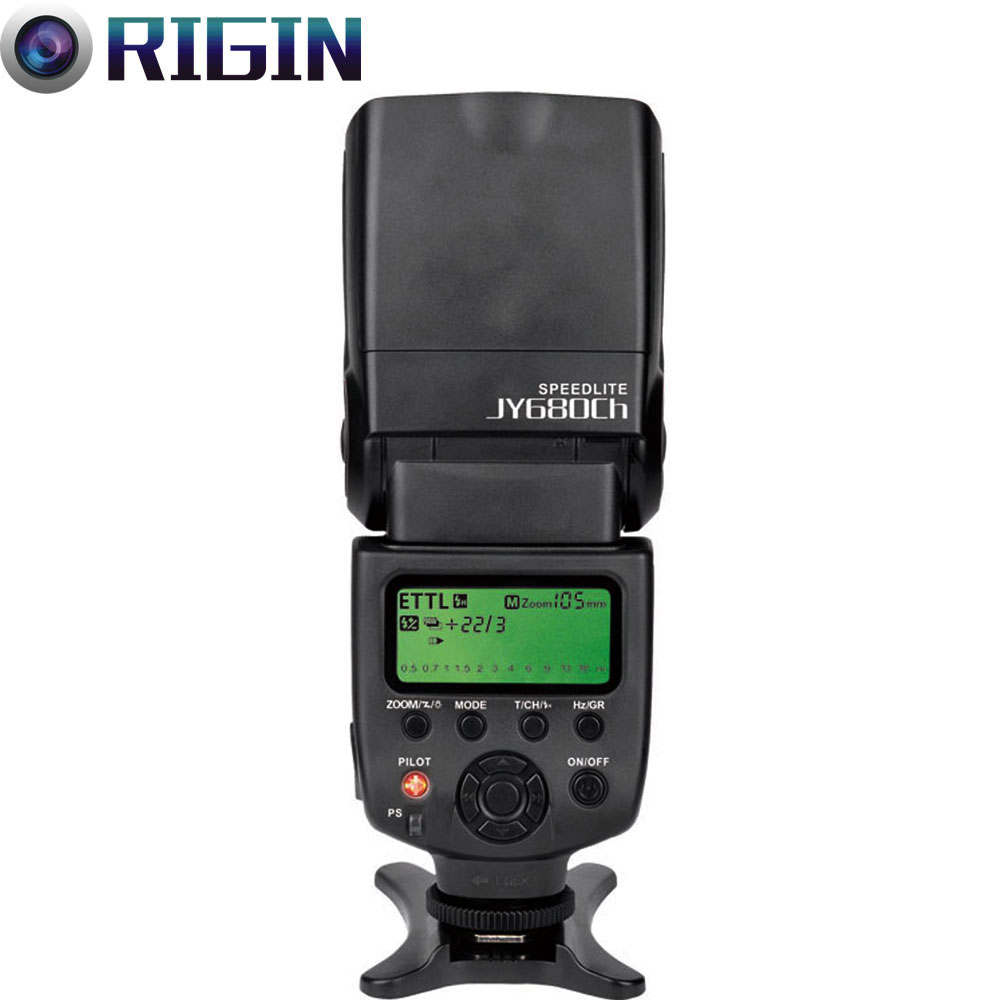 Viltrox high-quality JY-680CH GN58 Speedlite TTL 1/8000s HSS Camera flash with LCD Screen Support For Canon viltrox jy 680ch 1 8000s high speed sync hss ttl flash speedlite for canon dslr 760d 750d 700d 650d 80d 70d 60d 5dii 7d 6d 1300d