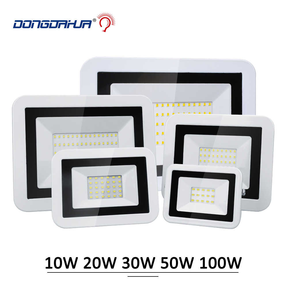 10W 20W 30W 50W 100W 230V LED Floodlights Spotlight Waterproof Led Search Light Outdoor Lamp Flood Light for Park Street Square