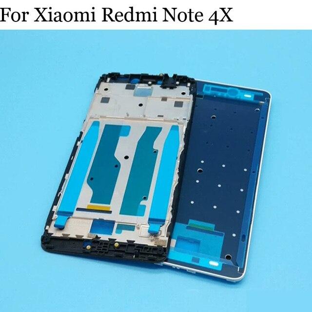 Original LCD support écran avant cadre pour Xiaomi Redmi Note 4X boîtier boîtier milieu cadre pour Xiaomi Redmi Note 4 X