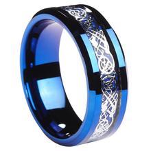 Blue Women Silvering Celtic