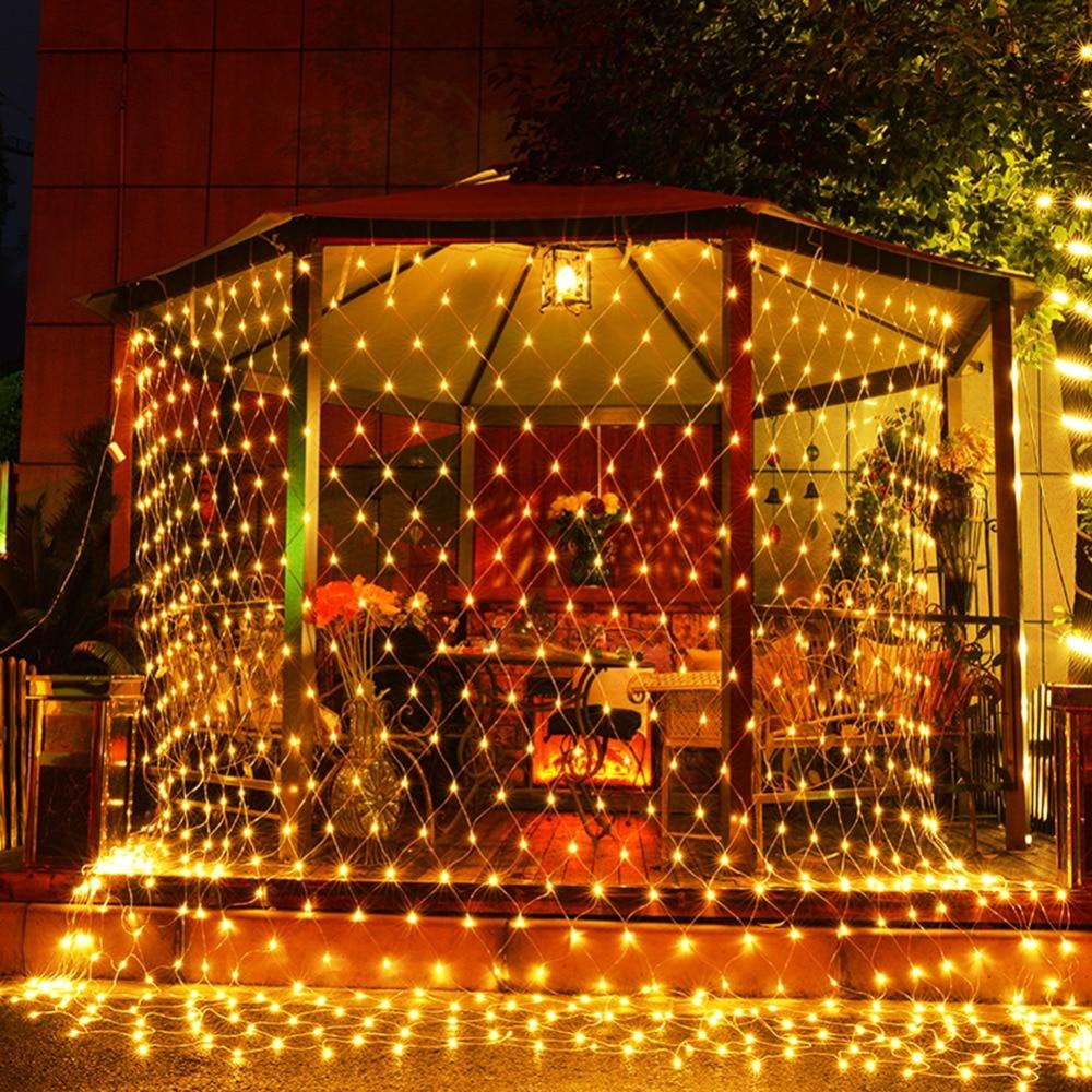 Fishnet LED Light Christmas Decorations For Home Lights ...