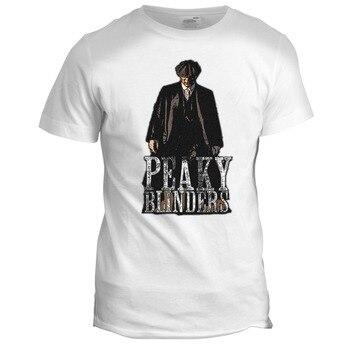 Peaky Shelby Company película de crimen Garrison Export Tv camiseta hombres 2019 ropa de marca Tees Casual imprimir camiseta