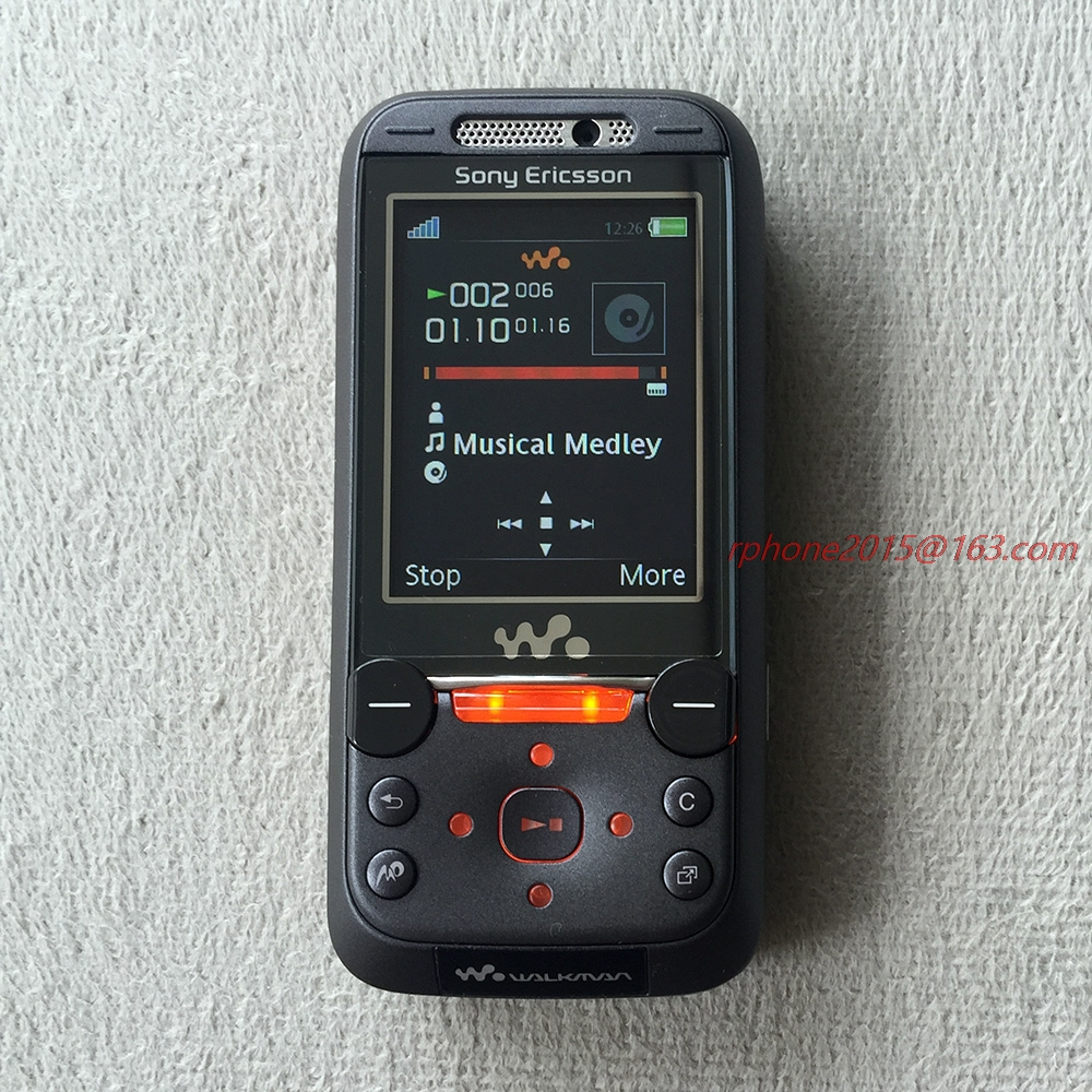 refurbished free shipping sony ericsson w850 bluetooth mobile phone 2 0mp unlocked w850i cell. Black Bedroom Furniture Sets. Home Design Ideas