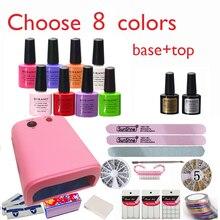 Burano New Arrival Hot Sale Soak-off Gel polish gel nail kit nail art tools sets kits manicure set choose 8 colors NEW