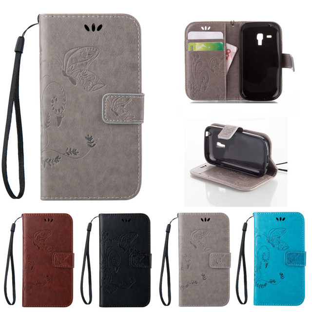 Flip Case for Samsung Galaxy S 3 iii mini S3 Siii i8190 GT-i8190 Value Edition VE i8200 GT-i8200 GT-i8200n Phone Leather Cover