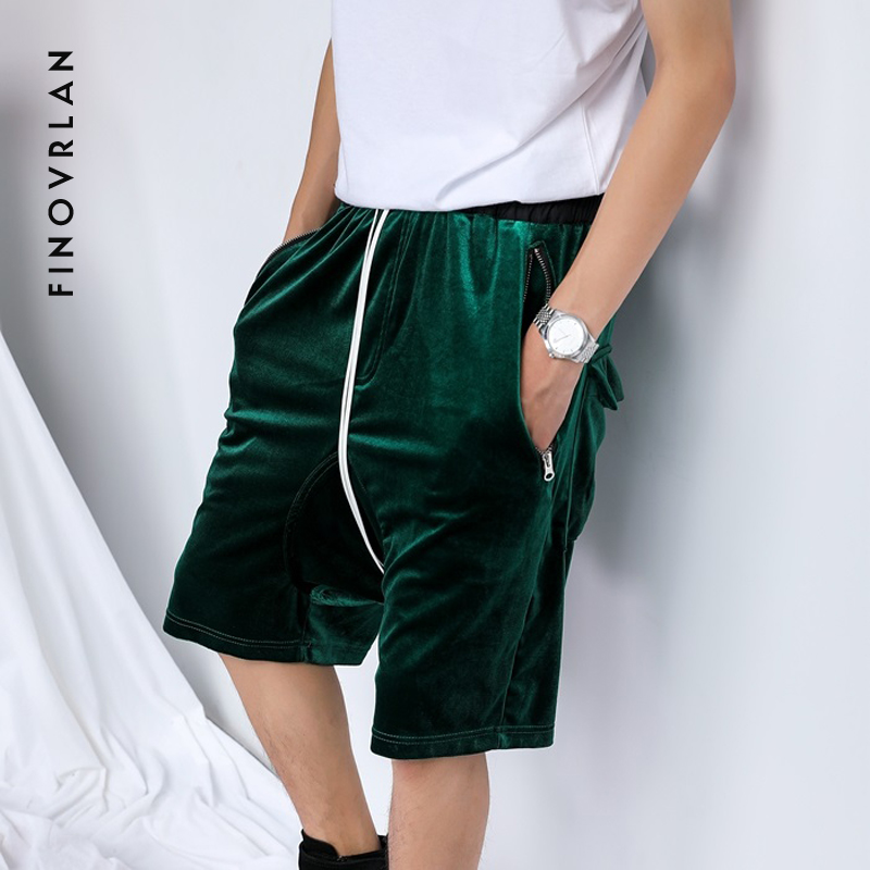 2018 new Flannel shorts men hip hop street wear hip hop fashion shorts for men big size casual shorts Streetwear Harem shorts