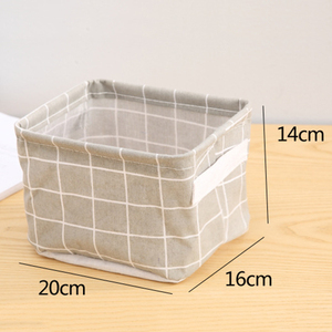 Image 5 - MICCK DIY Desktop Storage Basket Sundries Underwear Toy Storage Box Cosmetic Book Organizer  Stationery Container Laundry Basket