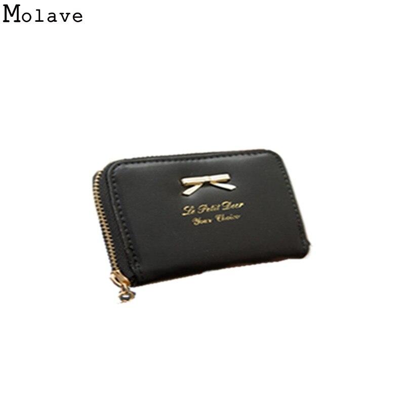 все цены на Women Wallets PU Leather Zipper Cute Wallets Women Small Purse Ladies Fashion Billeteras mujer Cartera Portefeuille Femme D39M15