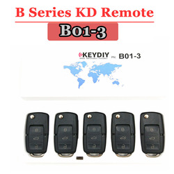 Free shipping (5PCS/LOT)B01 3 Button KD900 Remote Key B Series for  KEYDIY PROGRAMMER URG200/KD900/KD200