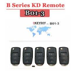 Miễn phí vận chuyển (5 CÁI/LỐC) B01 3 Nút KD900 Từ Xa Key B Series cho KEYDIY PROGRAMMER URG200/KD900/KD200