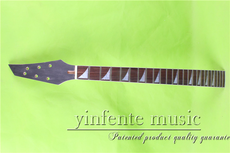 JKX-0095#  right    25.5 Electric guitar neck   Bolt on  rosewood    fingerboard fine quality  24 fret сепаратор sa 0095 omi 60296