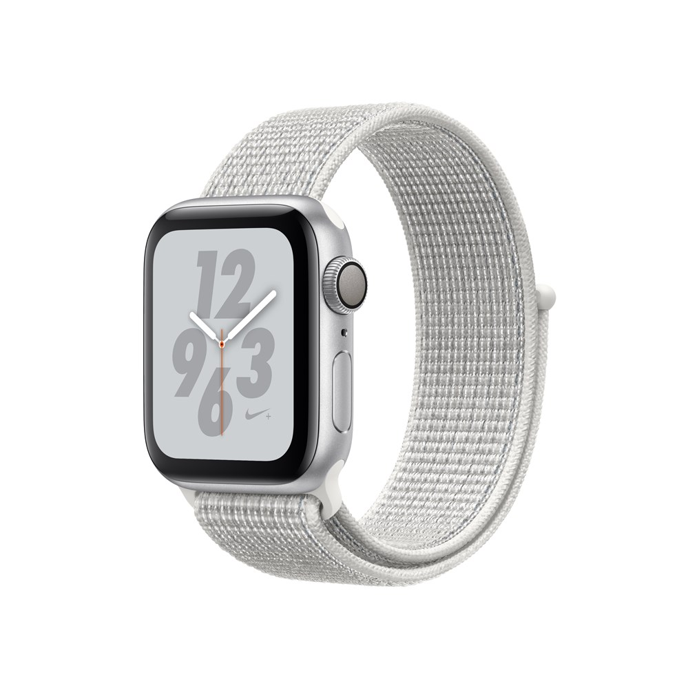 APPLEWATCH NIKE+ S4 GPS 40MM SIL ALUM CASE WHITE NIKE LOOP INAPPLEWATCH NIKE+ S4 GPS 40MM SIL ALUM CASE WHITE NIKE LOOP IN