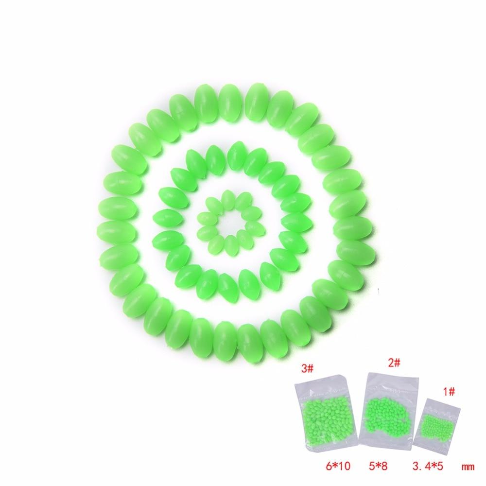 Luminous oval Rig making beads x 100,5mm x 8mm