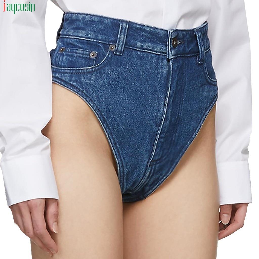 JAYCOSIN Hot sexy   short   pants Women Holes Sexy High Waist Zipped Denim Skinny Fit Mini   Shorts   Jeans Pants   short   Women 2019 new