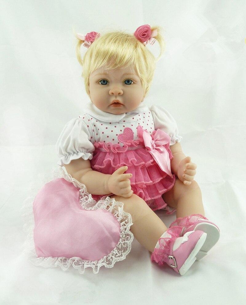 Lifelike Reborn Babies Vinyl Reborn Dolls Realistic Supernatural Babies Toys for Girls Birthday Gift Doll Juguetes Brinquedos