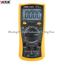 Fast arrival VICTOR VC890D Digital Multimeter True RMS multimeter capacitor 2000uF Backlight Tools