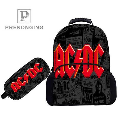 Custom 17inch ACDC (1)  Backpacks Pen Bags 3D Printing School Women Men Travel Bags Boys Girls Book Computers Bag#1031-01-13 Islamabad