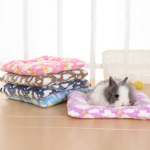 Small Animal Guinea Pig Hamster Bed House Winter Warm Squirrel Hedgehog rabbit Chinchilla Bed mat House Nest Hamster Accessories(China)