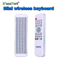 5 st Mini 2.4G USB Draadloze 6 axiale Gyro sensor IR afstandsbediening Air Mouse Gaming Toetsenbord Afstandsbediening Touchpad Voor Android TV Box Pc