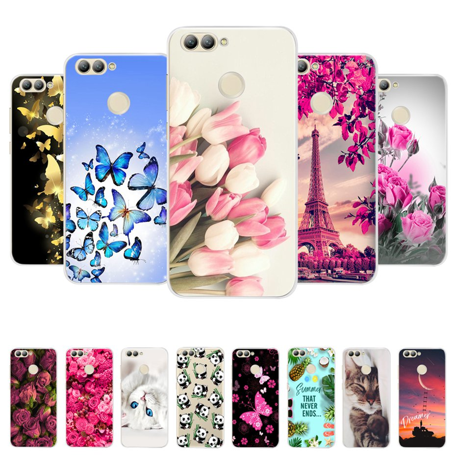 For Huawei Nova 2 Case Silicone Cover Soft TPU Protective Back Case For Coque Huawei Nova 2 PIC-LX9 Phone Cases For Huawei Nova2