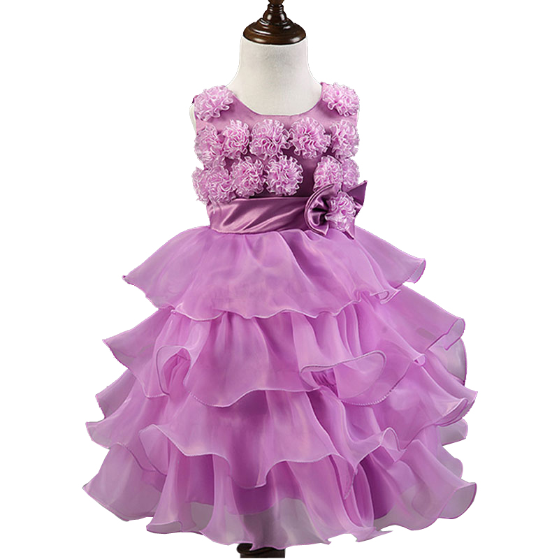 2016 Princess Flower Girl Dresses For Wedding Patry Lace Little Baby Girls Pageant Dress Kids Evening Gown2.2 exquisite pink kids princess first communication dress 2017 little girls pageant dresses with sash flower girl dresses