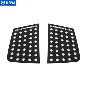 Image 5 - MOPAI Car Exterior Rear Window Triangle Glass Decoration Cover Trim Stickers for Jeep Compass 2017 Up Car Accessories Styling