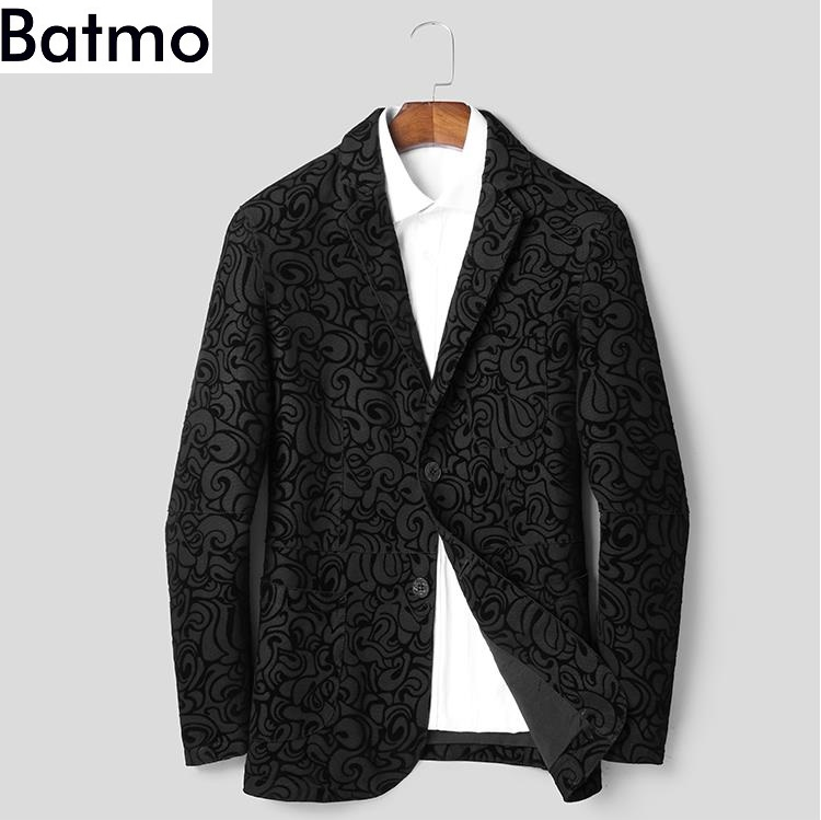 BATMO 2018 new arrival autumn high quality genuine leather jackets men,men's sheepskin jackets  1806