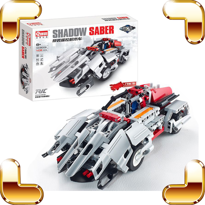 New Idea Gift 4 CH RC Blocks Toy Car DIY Electric Machine Racing Model Bricks Radio Control Vehicle Kids Favour Game Collection