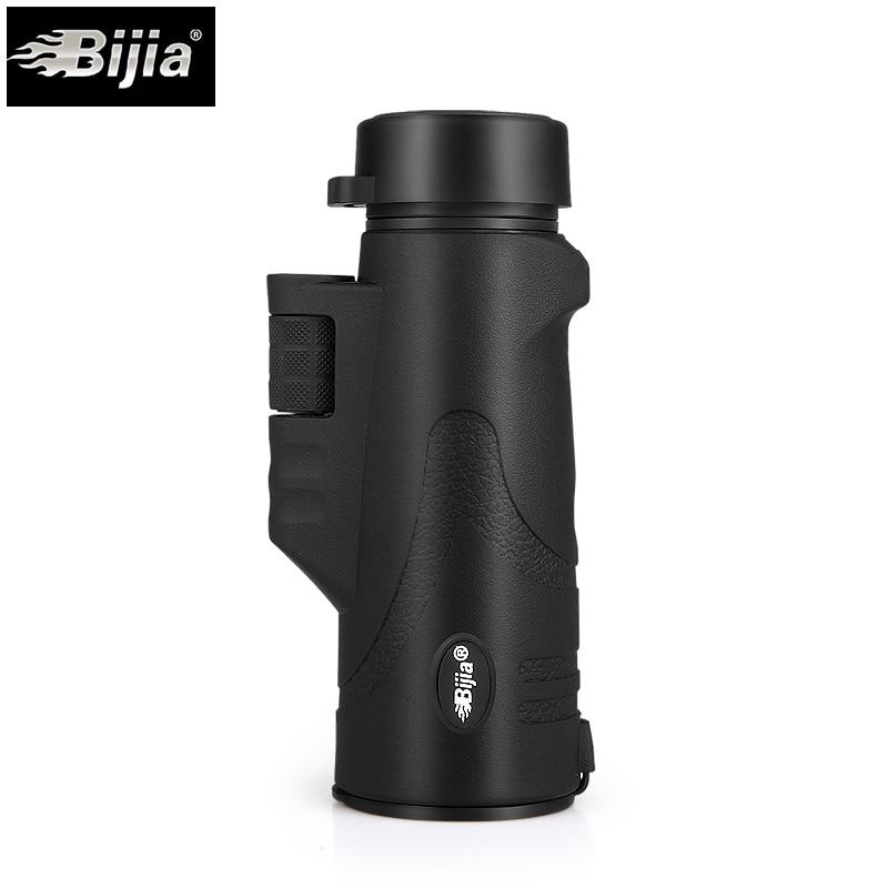 BIJIA Monocular Teleskop 10x42 Stickstoff low light Night Vision Monokulare für Reise Wandern Outdoor Sport wasserdicht