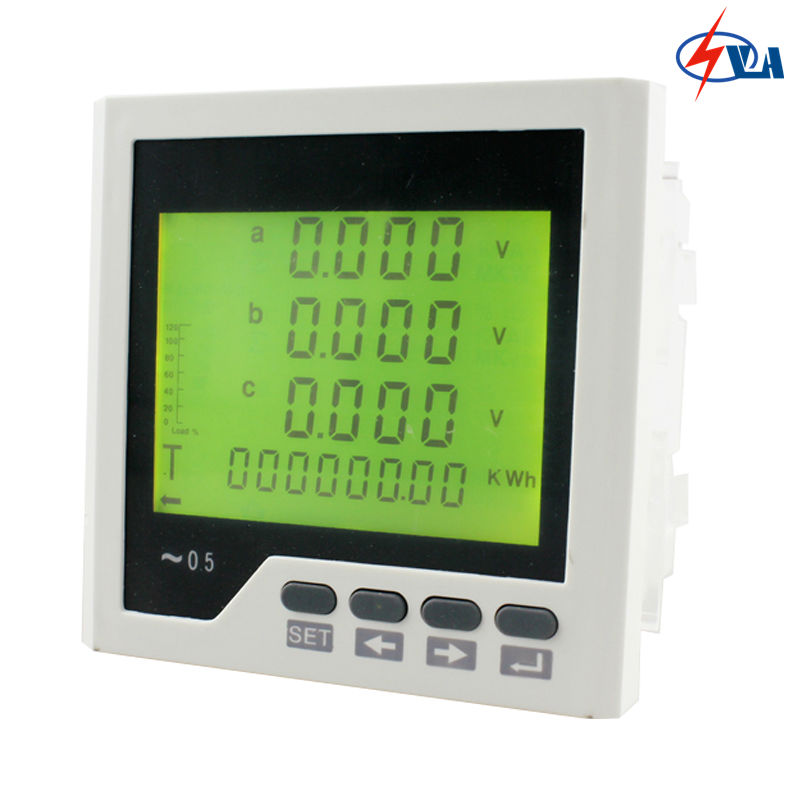 3D3Y 96*96mm 220V 3 phase ammeter voltmeter multifunction meter price  with LCD digital display mc 7806 digital moisture analyzer price with pin type cotton paper building tobacco moisture meter