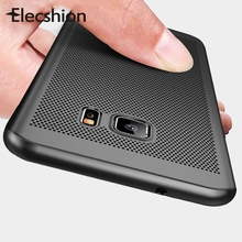 Hollow Heat Dissipation Phone Case For Samsung Galaxy S9 S8 S7 S6 Edge Plus Hard PC Ultra Slim A7 A5 2017 Cover