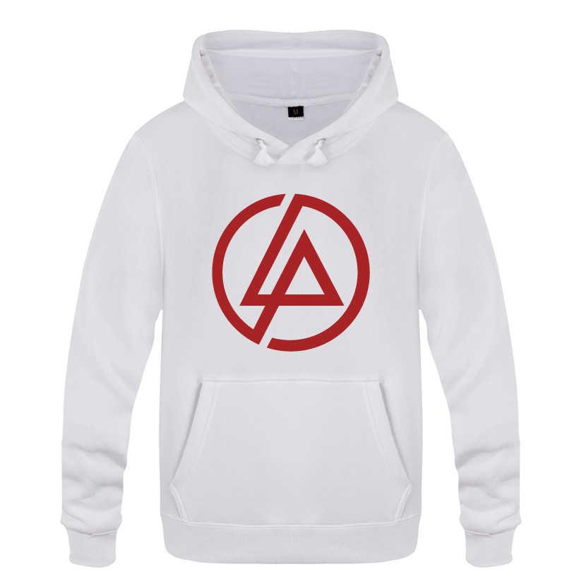 Linkin Park Rock Band Logo Felpe Uomini 2018 Mens Fleece Pullover Felpe