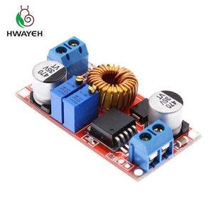 Image 4 - 1Pcs 5A Dc Naar Dc Cc Cv Lithium Batterij Step Down Opladen Board Led Power Converter Lithium Charger Stap down Module Hong