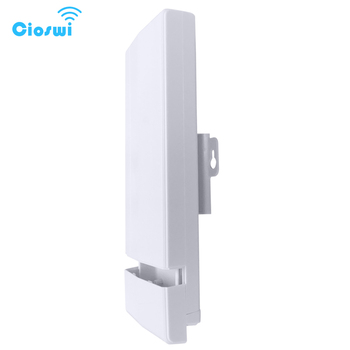 Cioswi 3Km Long Range WIFI Router Outdoor CPE Bridge 2.4Ghz 150Mbps Wireless Router
