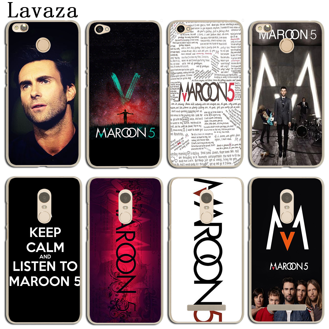 Lavaza maroon 5 Phone Cover Case for Xiaomi Mi 8 SE A1 5X MIX 2S MiA1 Mi8 MI6 Redmi S2 Note 4 4X 4A 3 6 Pro 5 Plus 5A Prime ...
