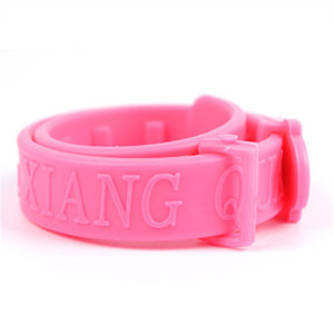 1pcs Fashion Pet Collar Neck Ring Leave Away From Flea Tick Mite Louse Remedy Animal Cat Accessories(China)