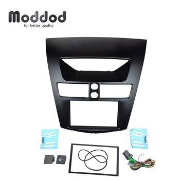 Pour Mazda BT-50 2012 à partir de Facia Radio CD tableau de bord montage Double Din stéréo Fascia panneau Installation kit d'outils pour habillage encadrement