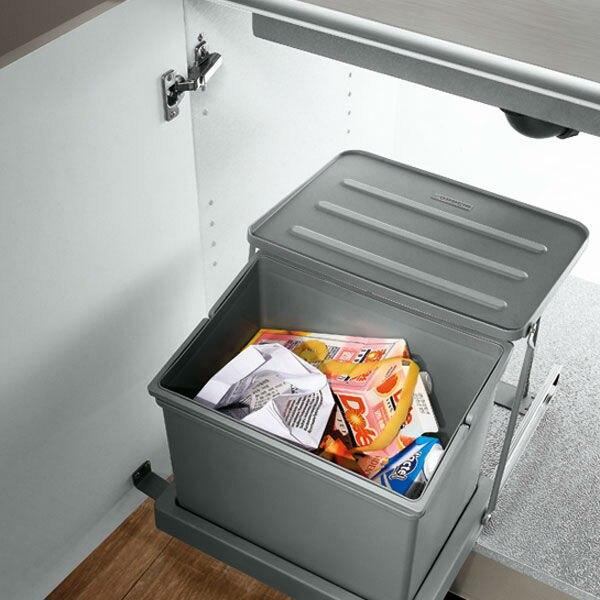 oppein waste bins in sink cabinet trash can for kitchen op