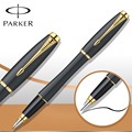 6 Colors Parker Urban Fountain Pen Matte Black Pens Gold / Silver Clip parker Pen School Supplies Stationery 13.8*1.4cm