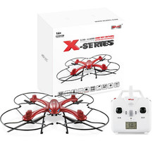 F18744 X102H 2.4G 4CH 6-Axle RC Quadcopter RTF Air Press Altitude Hold LED Light Drone X-SERIES X101 Upgraded