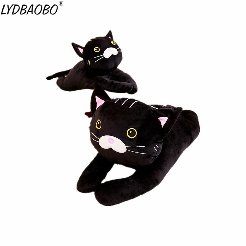 Lydbaobo 1 Unid 35 Cm Precioso Gato Negro Algodon Relleno Peluche